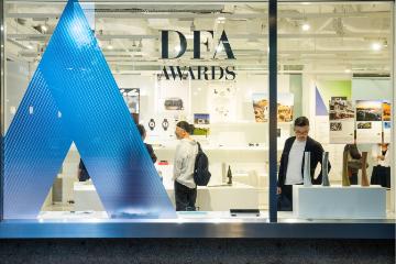 DFA Awards Exhibition in Tokyo