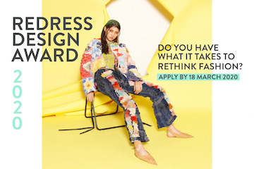 Supporting Event - Redress Design Award 2020 – Open for applications
