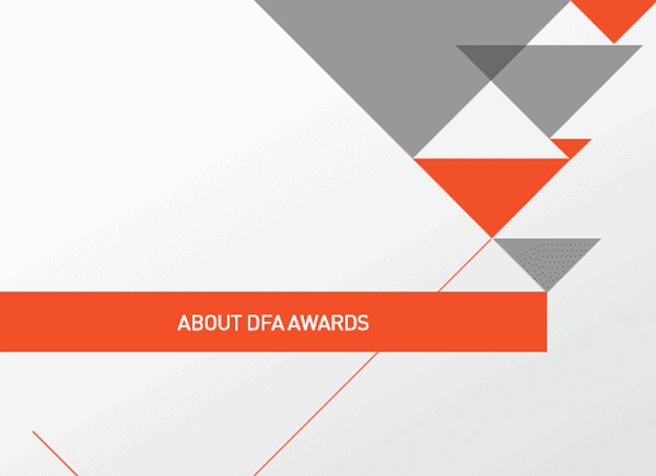 DFA Awards 2015  Awards and Recognition to Design Excellence