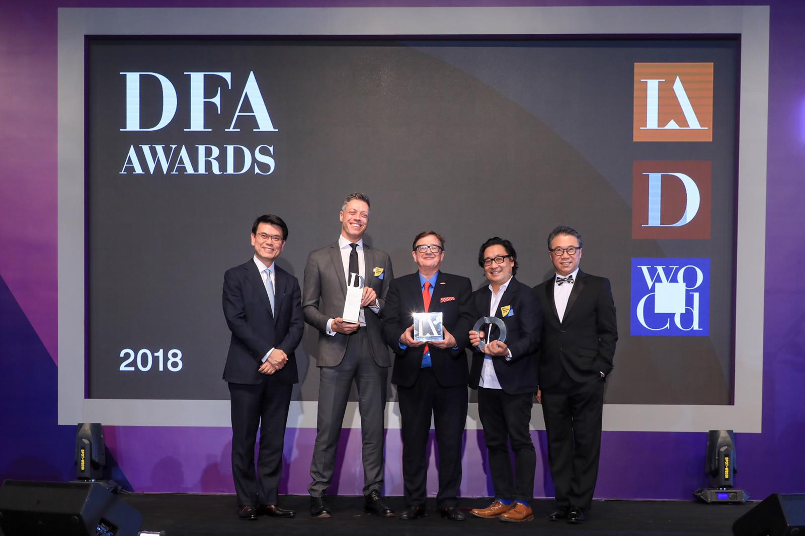 International Design Leaders Converge in Hong Kong for DFA Awards An award publication features each of the winning design excellence